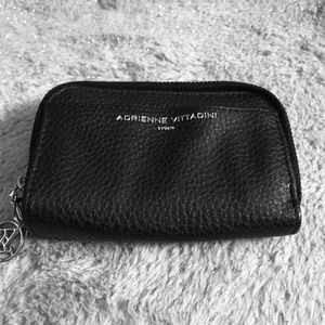 Adrienne Vittani  Pebble leather wallet